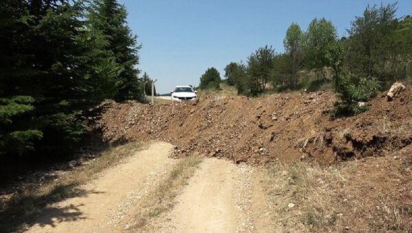Aynı aileden 5 kişinin boğulduğu baraj gölüne inen yol kapatıldı - Sputnik Türkiye