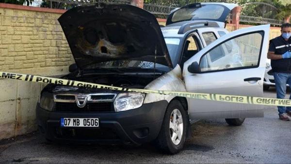 Kız arkadaşının otomobilini kundakladı - Sputnik Türkiye