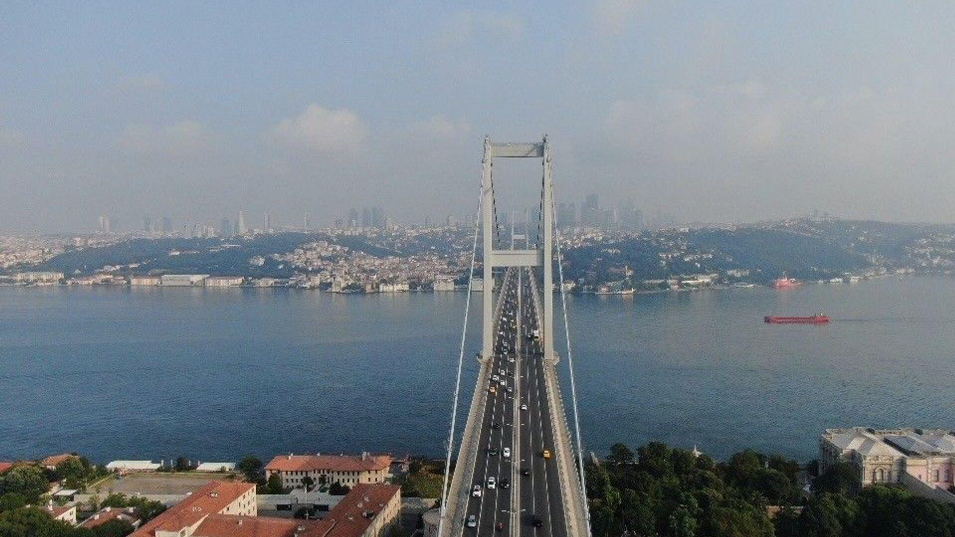 köprü trafik - Sputnik Türkiye, 1920, 19.09.2021