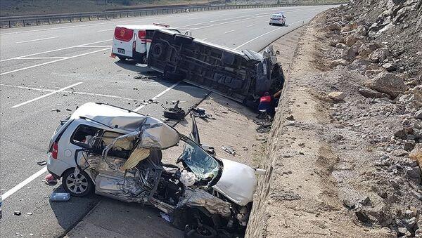 Kurban Bayramı'nda trafik kazaları - Sputnik Türkiye