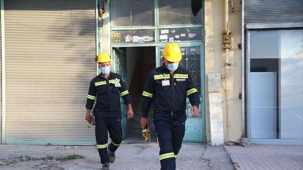 Kayseri'nin merkez Kocasinan ilçesinde zehirlendikleri iddia edilen 6 kişi, hastaneye götürüldü. - Sputnik Türkiye