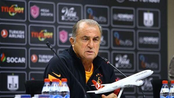 Galatasaray Teknik Direktörü Fatih Terim: İlk maçta avantajlı bir skor almak istiyoruz - Sputnik Türkiye