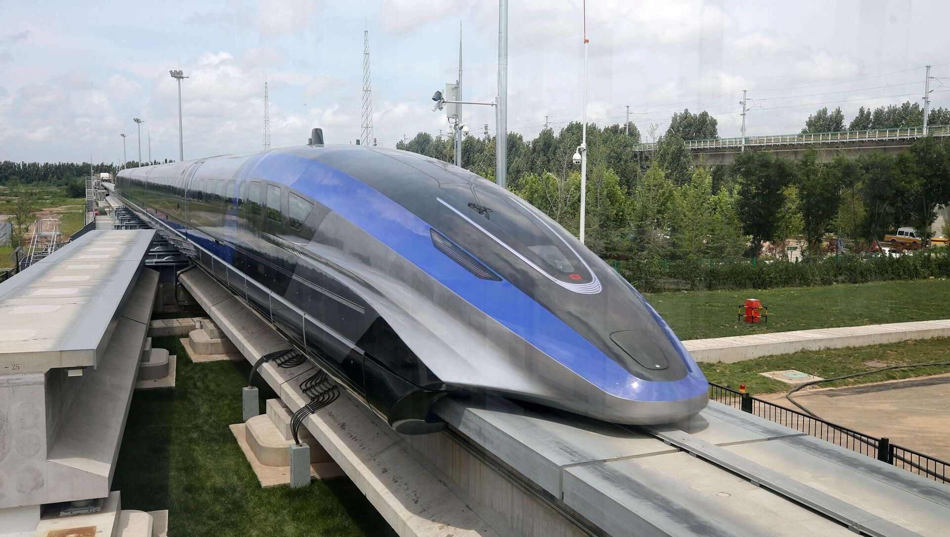 Çin - maglev treni - Sputnik Türkiye, 1920, 20.07.2021