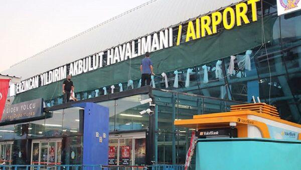 Erzincan Havalimanı'nın ismi 'Erzincan Yıldırım Akbulut' olarak değiştirildi - Sputnik Türkiye