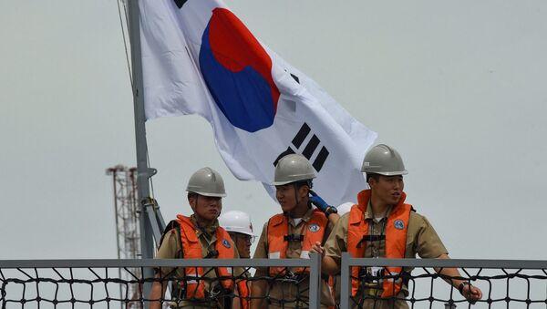 Güney Kore destroyeri - Munmu the Great - Sputnik Türkiye