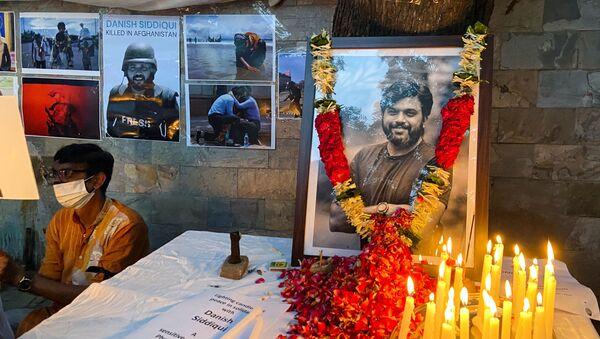 Pulitzer ödüllü Hintli foto muhabir, Taliban tarafından öldürüldü - Sputnik Türkiye
