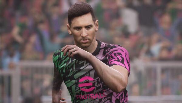 eFootball 2022 Lionel Messi - Sputnik Türkiye
