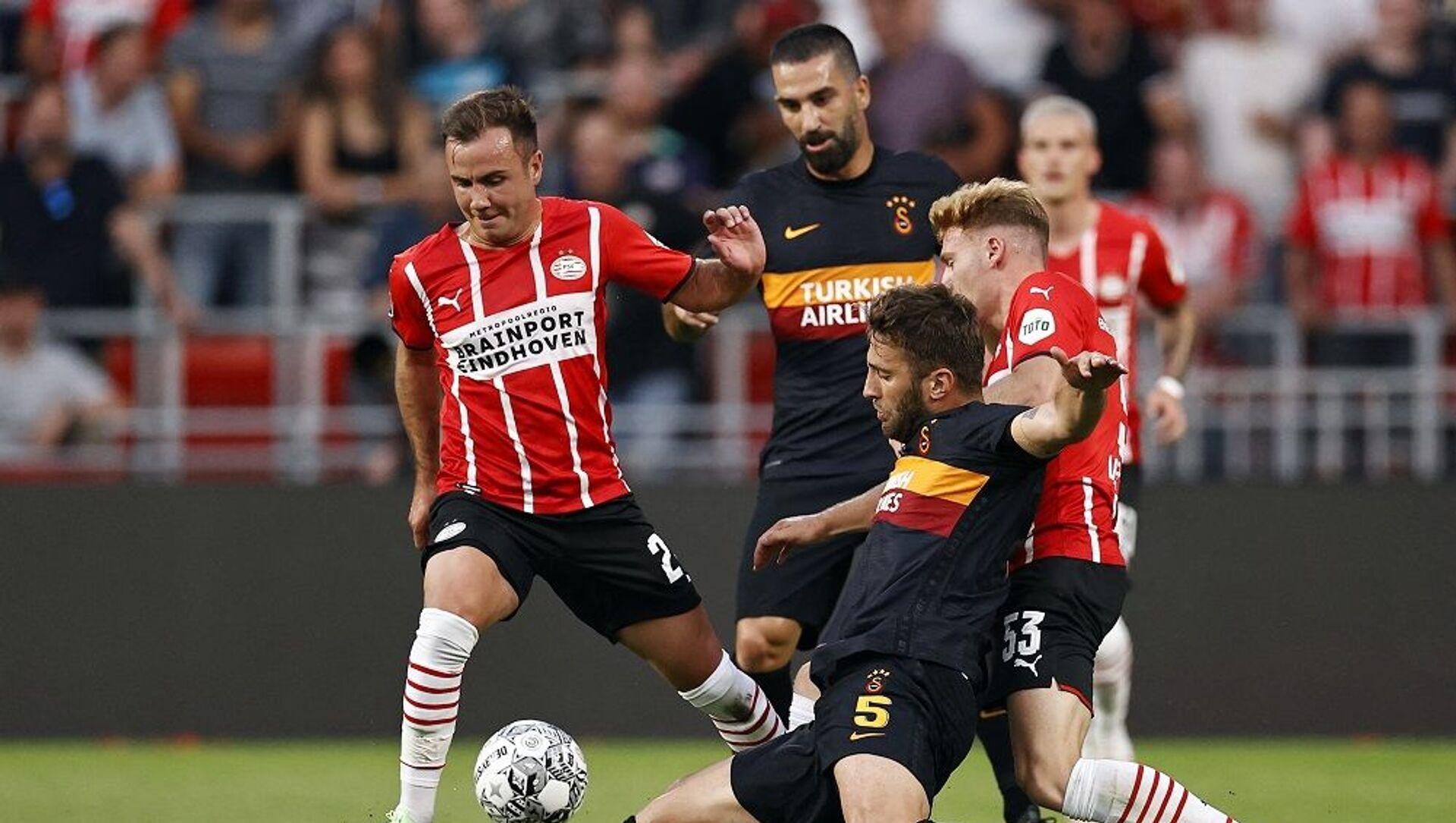 UEFA Şampiyonlar Ligi 2. Eleme Turu ilk maçında Galatasaray, Hollanda ekibi PSV'ye deplasmanda 5-1 mağlup oldu  - Sputnik Türkiye, 1920, 27.07.2021