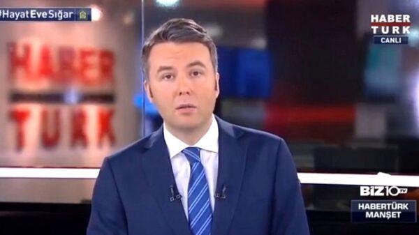 Habertürk televizyonu sunucusu Mehmet Akif Ersoy - Sputnik Türkiye