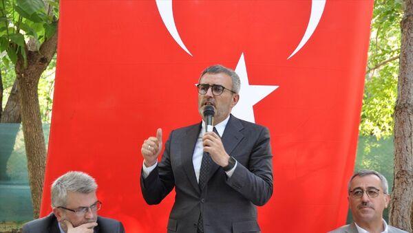 AK Parti Grup Başkanvekili MahirÜnal - Sputnik Türkiye