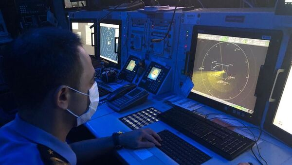 Batan tekneye dair arama kurtarma çalışmaları - Sputnik Türkiye
