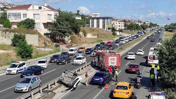 Kurban Bayramı tatili trafik kazaları - Sputnik Türkiye