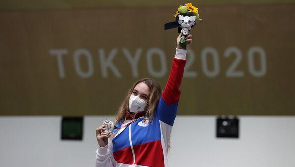 Tokyo Olimpiyatları'nda Rus ekibin ilk madalyası geldi - Sputnik Türkiye