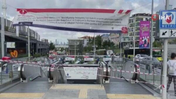 İstanbul metrosunda klima patlaması - Sputnik Türkiye