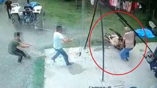 Samsun'da kurbanlık boğanın saldırdığı yaşlı adam hastanede hayatını kaybetti - Sputnik Türkiye