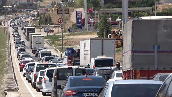 Kırıkkale trafik - Sputnik Türkiye