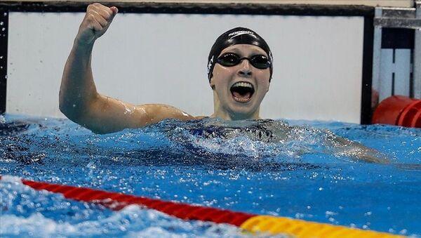 Olimpiyat yüzme - Sputnik Türkiye