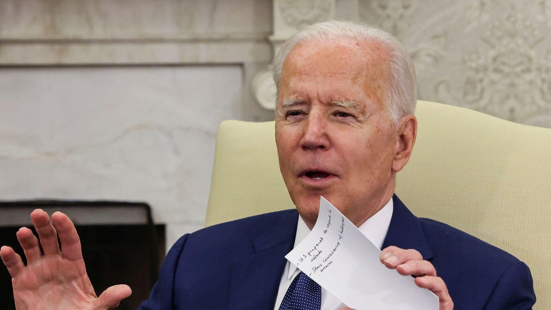 ABD Başkanı Joe Biden - Sputnik Türkiye, 1920, 04.08.2021