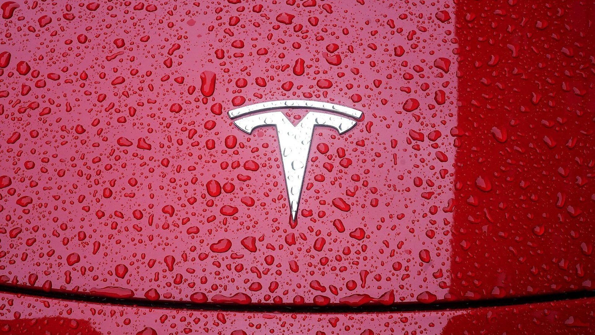 Tesla - logo - Sputnik Türkiye, 1920, 27.07.2021