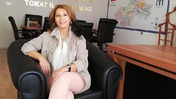 İYİ Parti Tokat İl Yönetim Kurulu üyesi Uğur Songül Sarıtaşlı  - Sputnik Türkiye