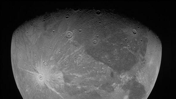 Jüpiter'in en büyük uydusu Ganymede - Sputnik Türkiye