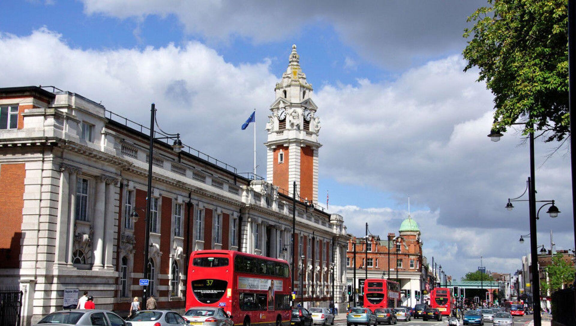İngiltere'nin başkenti Londra'ya bağlı Lambeth Belediyesi - Sputnik Türkiye, 1920, 29.07.2021