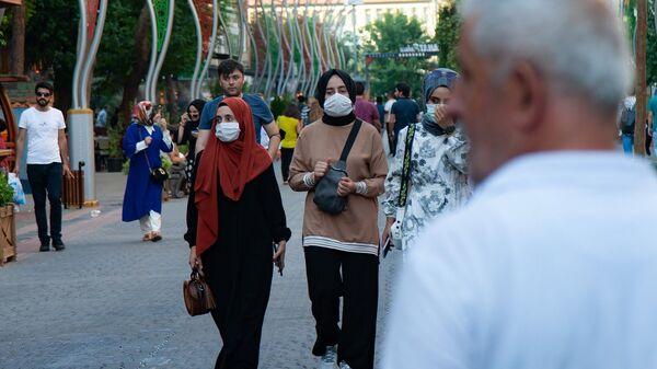 Diyarbakır - maske - koronavirüs - Sputnik Türkiye