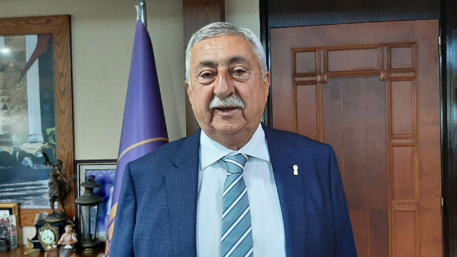Türkiye Esnaf ve Sanatkarları Konfederasyonu (TESK) Genel Başkanı Bendevi Palandöken - Sputnik Türkiye, 1920, 26.09.2021