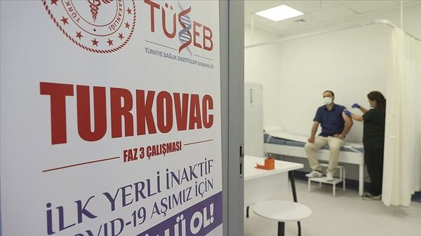 Yerli aşı TURKOVAC Faz-3  - Sputnik Türkiye