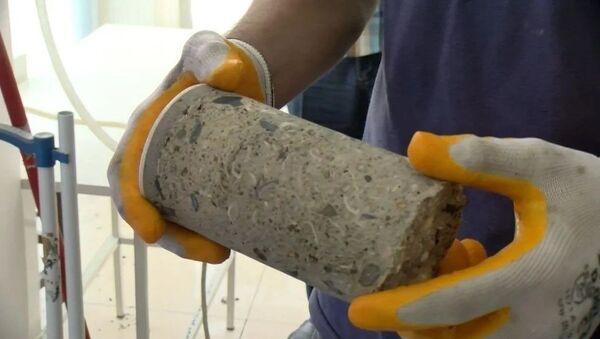 Güngören'de tahliye edilen binanın betonundan deniz kumu çıktı - Sputnik Türkiye