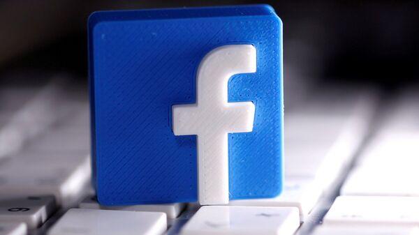 Facebook - logo - Sputnik Türkiye