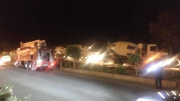 Antalya'nın Alanya ilçesinde iki ayrı mahallede çıkan yangınlarda, 3 dönüm zirai alan zarar gördü. - Sputnik Türkiye