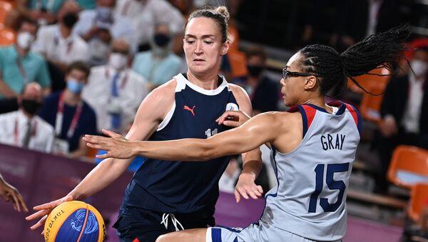 Tokyo 2020 - Rusya - ABD - basketbol - Sputnik Türkiye