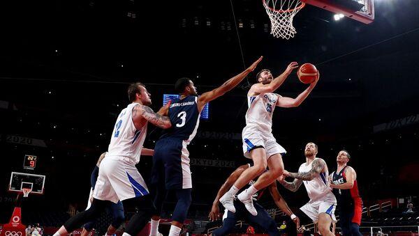 Fransa - Çekya - erkek basketbol takımı - Tokyo 2020 - Sputnik Türkiye