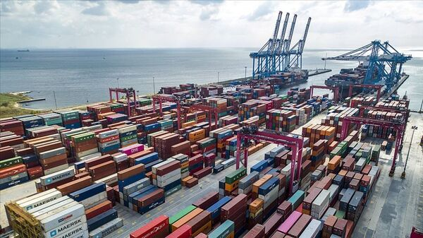 dış ticaret, liman - Sputnik Türkiye