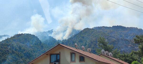 Marmaris Cumhuriyet Başsavcılığınca, Muğla'nın Marmaris ilçesindeki yangınla ilgili soruşturma başlatıldığı bildirildi. - Sputnik Türkiye