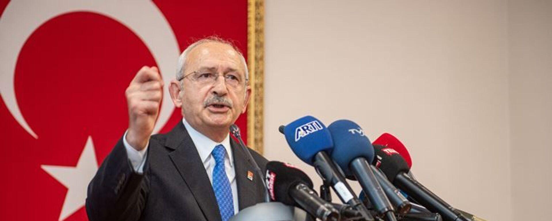 CHP Genel Başkanı Kılıçdaroğlu, Antalya Kriz Merkezi'nde konuştu: Her yıl 1 tane uçak alınsa bugün 19 uçağımız olacaktı - Sputnik Türkiye, 1920, 21.09.2021