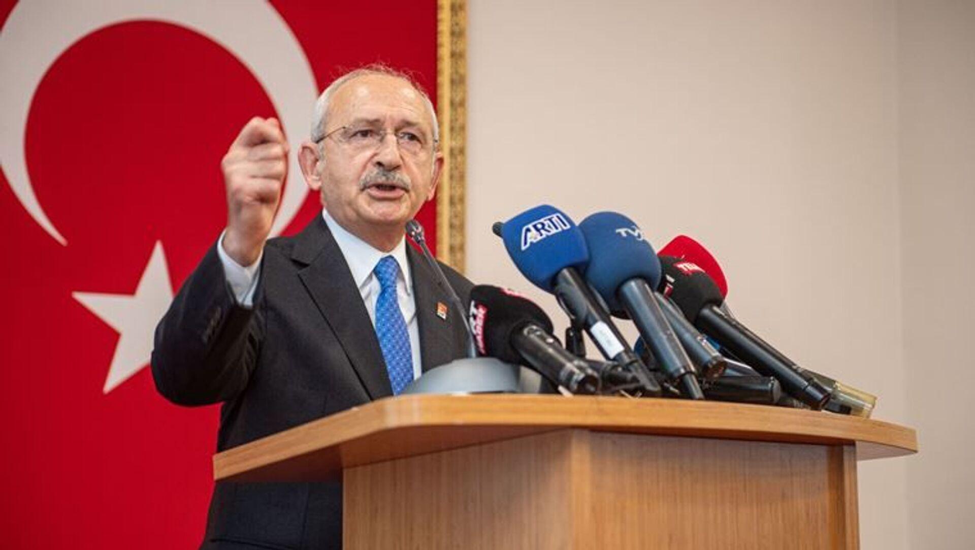 CHP Genel Başkanı Kılıçdaroğlu, Antalya Kriz Merkezi'nde konuştu: Her yıl 1 tane uçak alınsa bugün 19 uçağımız olacaktı - Sputnik Türkiye, 1920, 30.07.2021