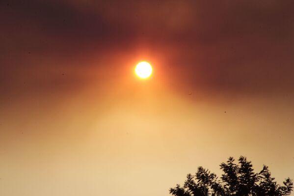 Dumanlar güneşi bile engelledi. - Sputnik Türkiye