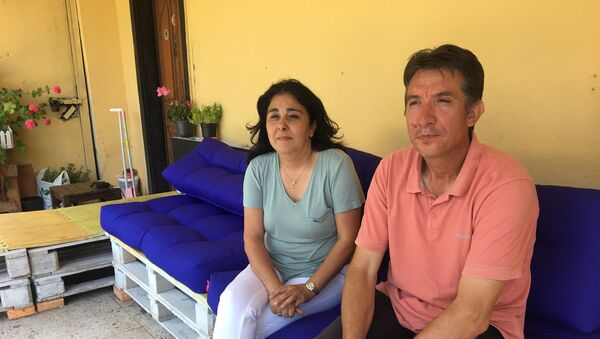 Mete Gazoz'un ailesi - Sputnik Türkiye