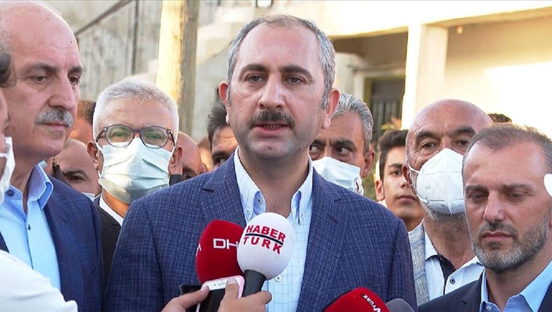 Adalet Bakanı Abdülhamit Gül - Sputnik Türkiye, 1920, 31.07.2021