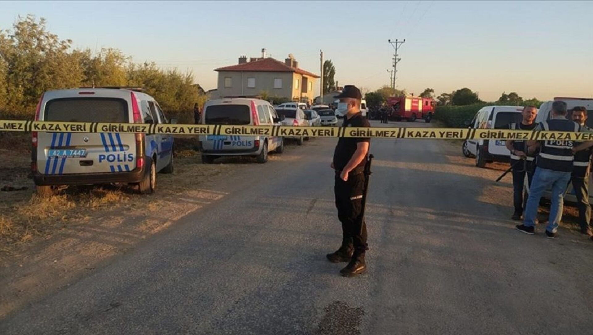 Konya'da 7 kişilik aile öldürüldü - Sputnik Türkiye, 1920, 04.08.2021