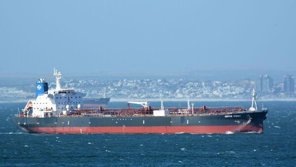 Petrol tankeri Mercer Street - Sputnik Türkiye