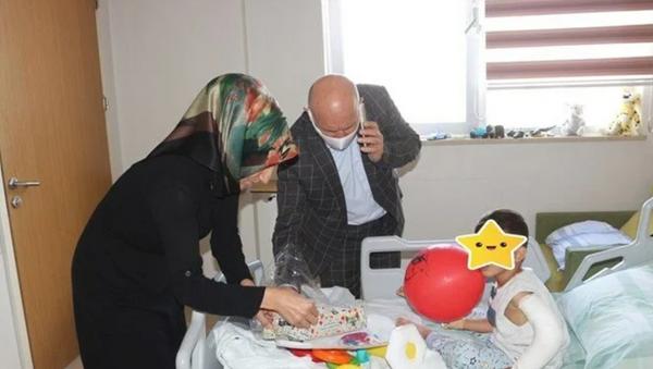 Darp edilen 4 yaşındaki 9 gün komada kaldı - Sputnik Türkiye