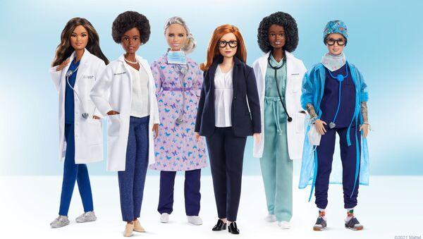 Oyuncak şirketi Mattel, tıp ve sağlık alanında öne çıkan 6 kadın için Barbie 'rol model' serisini çıkardı. - Sputnik Türkiye