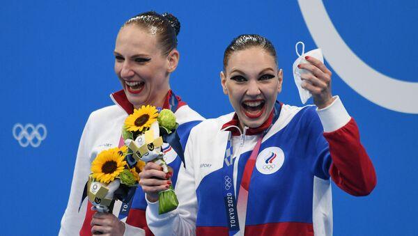 Svetlana Kolesniçenko ve Svetlana Romaşina - Sputnik Türkiye