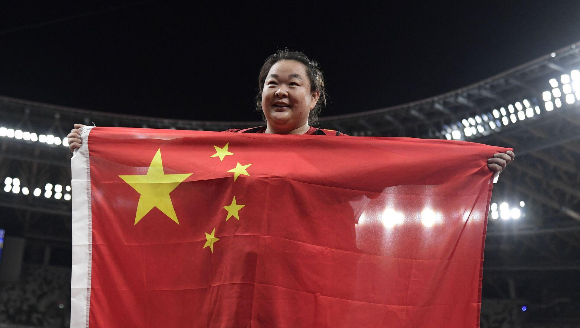 Çin, Wang Zheng, 2020 Tokyo Olimpiyat Oyunları - Sputnik Türkiye, 1920, 04.08.2021