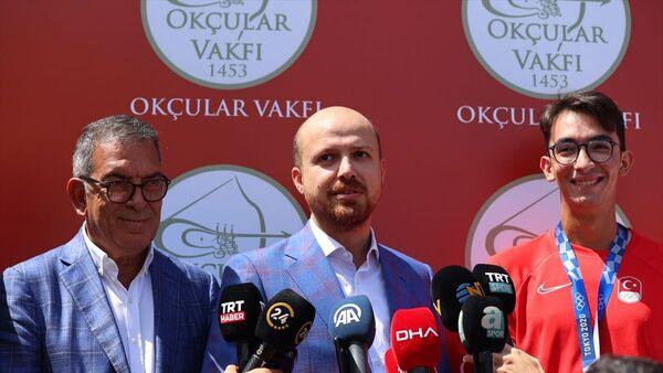 Bilal Erdoğan, Mete Gazoz - Sputnik Türkiye