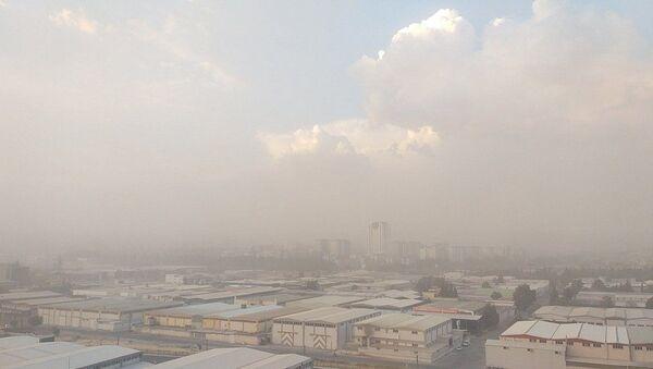 Gaziantep'i toz bulutu kapladı - Sputnik Türkiye