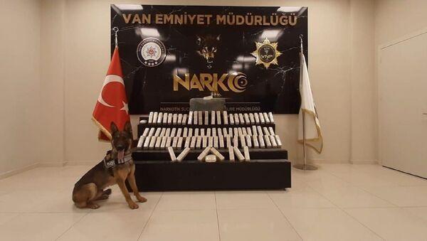 Van'da 42 kilo eroin ele geçirildi - Sputnik Türkiye
